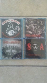 Songs of anarchy complete set  Roswell, 88201