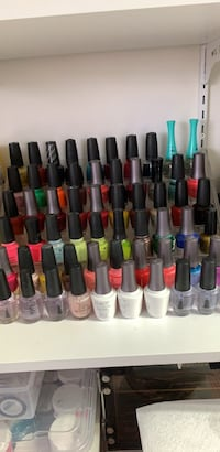 Nails polish OPI and top , base , cutie $5 each  Calgary, T2B 3G1