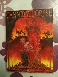 Dvd Cannibal Corpse - Centuries of Torment 6234 km