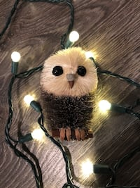 2 Burry Owl Christmas Ornaments Toronto, M6K