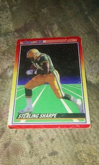 Pocket Man Sterling Sharpe trading card Beaver Dam, 53916