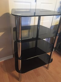 Black Tempered Glass Stand St Albert, T8N