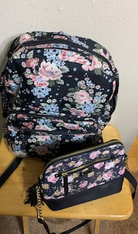 Floral Backpack & Crossbody Purse Homewood, 35209