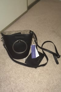 Leather high end ladies bag with tags