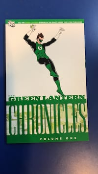 the Green Lantern Chronicles DC volume 1 box Mooresville, 28117