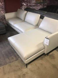 Leather Sectional Rochdale, 01542