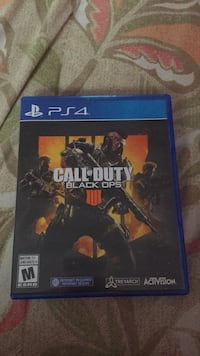 Ps4 call of duty black ops 4 Vancouver, V5W 3C8