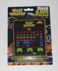 Space Invaders Sliding Puzzle  539 km