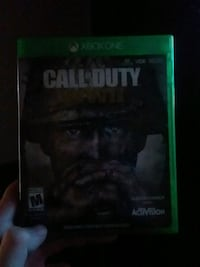 Call of Duty ww2 Xbox One game &case Cut Off, 70345