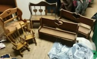 Lot of 6 Pieces of Decorative Wooden Furniture  Hagerstown, 21742