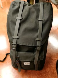 all black Hershel little America bag Richmond, V6Y 2M3