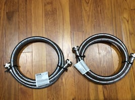 5 ft. Stainless Steel Washing Machine Hose . SEE MY PAGE 4 MORE ITEMS