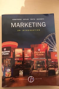 Marketing: An Introduction Canadian 6th Edition Mississauga, L5A 2B6