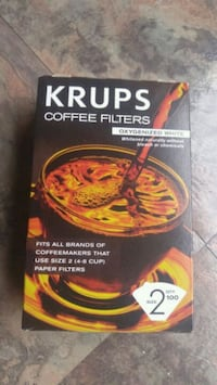 KRUPS/Coffee Filters Gaithersburg, 20877