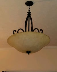 brown and black pendant lamp Conway, 29526
