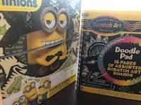 Puzzle and doodle pad