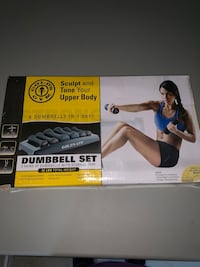 6 dumbbells brandnew