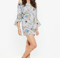 MISSGUIDED FLORAL DRESS Vancouver, V5X 0C7