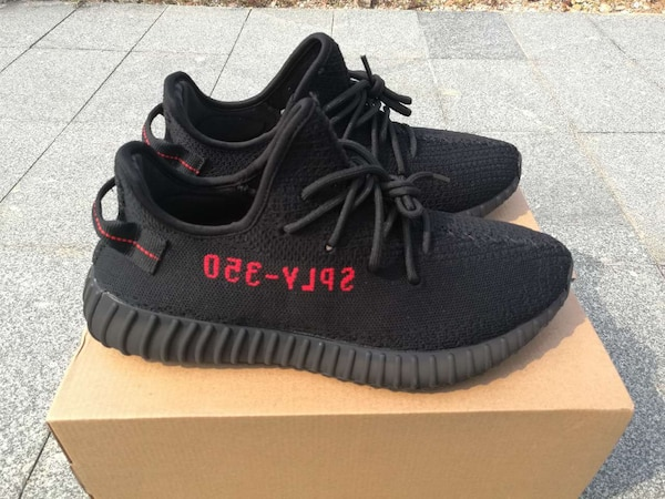 huge selection of 59574 937c9 adidas yeezy 350 v2 bred with real boost original