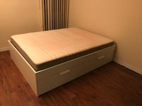 Queen size spring mattress Vancouver, V5R 6C8