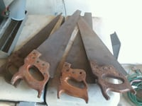 Old hand saws Naperville, 60563
