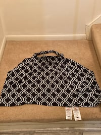sanitized boppy breastfeeding cover black pattern Gaithersburg, 20878