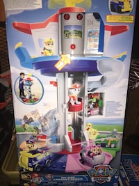 Paw Patrol My Size lookout tower box