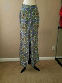 green and blue floral print Gianni Bini flar legs Greensboro, 27405