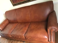 Birch Lane Landry Leather Sofa Centreville, 20120