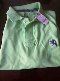 green and purple polo shirt Cathedral City, 92234