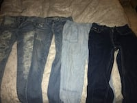 American eagle, hollister and Tommy Hilfiger jeans
