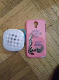 Blue tooth speaker and Harley Davidson phone. Case Calgary, T2B 2C7