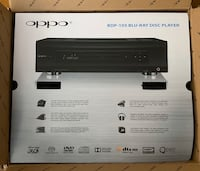 Oppo BDP-105 - excellent condition with box and all parts.
