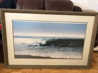 Canvas photo of waves 42x28 Toronto, M5R 3T3