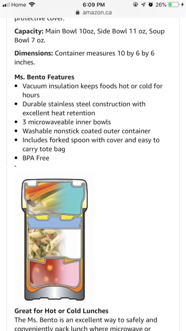 Zorijushi SL-NCE-09 Ms.Bento Vacuum Lunch Jar in Stainless Steel 319c82f3-06e3-4a30-a589-bdee0809cb20