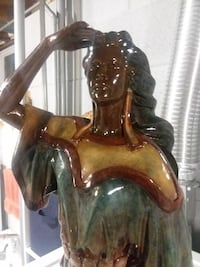 NATIVE AMERICAN WOMAN SCULPTURE Germantown, 53022