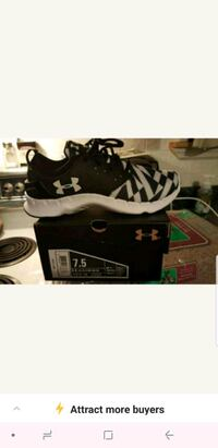 pair of black-and-white Under Armour sneakers Chatsworth, 30705