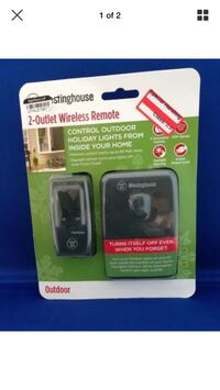 Westinghouse 2 Outlet Outdoor Wireless Remote T28075 Palm Harbor, 34683