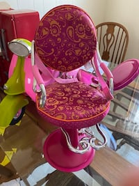 My generation or American girl doll salon chair