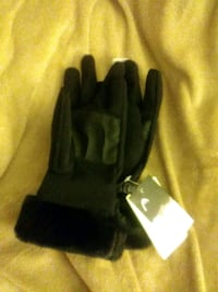 Womens large black classy snow gloves brand. Head Concord, 94521
