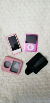 two iPod Nano 7th gen and 3rd gen with cases Annandale