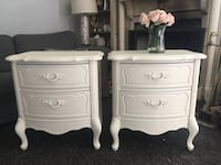 Delivery - pair of antique French night stands (refinished) Mississauga, L5H 1S3