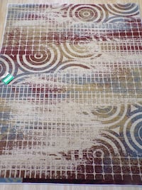 Brand new 5'X7' Distressed Contemporary Circles Multi RUG Kennesaw, 30152