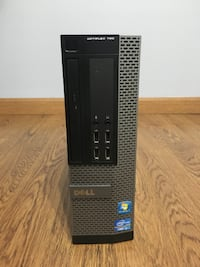 "DELL OPTIPLEX 790 PC with new 500Gb SSD + 20"" Dell LCD Monitor, Intel i3, 8GB Ram, Windows 10 Skokie"
