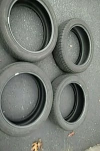 Four used 205/50-17 all season tires Wading River, 11792