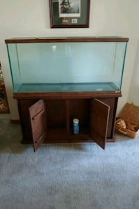 55 gallon aquarium with stand and all the goodies Champlin, 55316
