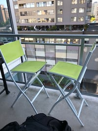 Patio bar chairs (pair) New Westminster, V3L 3B5