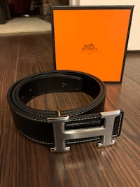 Hermès belt with box
