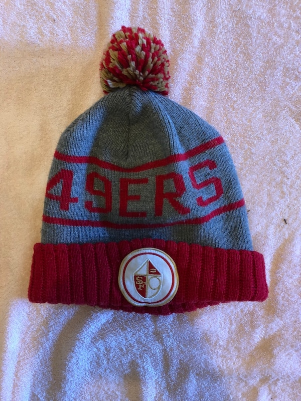 22e81b54 Used gray and red San Francisco 49ers bobble hat for sale in Lemoore ...
