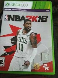 NBA 2K18 Xbox One game case Woodbridge, 22191